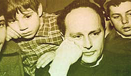 Lorenzo Milani coi suoi ragazzi