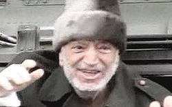Le ultime immagini di Yasser Arafat