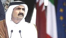 Hamad bin Khalifa Al Thani, emiro del Qatar