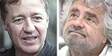 Max Casacci vs Beppe Grillo