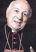 Pio Laghi, allora nunzio apostolico