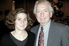 Sidney Winawer con la moglie Joanna