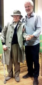 Ceronetti a Torino con Pallante
