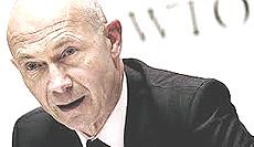 Pascal Lamy, direttore del Wto
