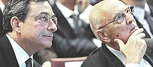 Draghi e Napolitano
