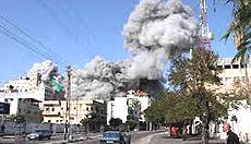 Gaza: l'inferno dei bombardamenti israeliani