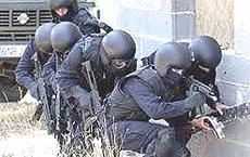 Un commando Eurogendfor in azione