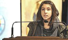 Adele Marri, studentessa dell'ateneo di Parma