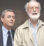 Ezio Mauro ed Eugenio Scalfari
