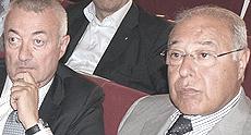 Fabio Riva, latitante, con Girolamo Archinà