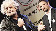 Grillo in Sicilia con Cancelleri