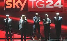 Il confronto televisivo su Sky
