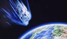 Terra e asteroide