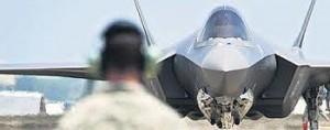 Il caccia stealth F-35