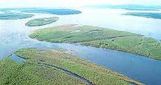 Il fiume Lena, in Siberia