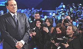 Berlusconi da Santoro il 10 gennaio 2013