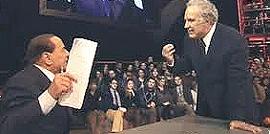 Berlusconi ospite di Santoro