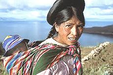 Una donna Aymara