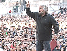 "Grillo al ""Vaffa... Day"""