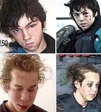 I quattro baby-rapinatori torturati dalla polizia