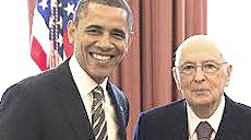 Obama e Napolitano