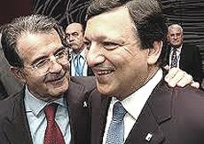 Prodi e Barroso