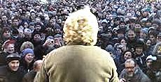 Grillo, tsunami tour