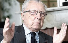 "Jacques Delors, uno dei ""padri"" dell'euro-disastro"
