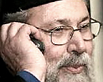 L'arcivescovo Chrysostomos di Cipro