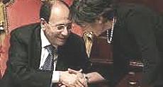 Renato Schifani con Anna Finocchiaro