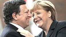 Barroso e Merkel