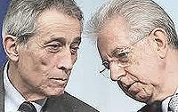 Enrico Bondi e Mario Monti