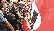 Grecia, rabbia anti-tedesca