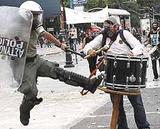 Repressione in Grecia