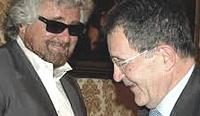 Grillo con Prodi