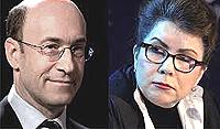 Kenneth Rogoff e Carmen Reinhart