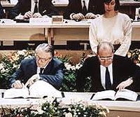 Trattato di Maastricht, fatale firma