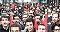 Grecia, giovani disoccupati