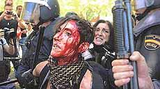 repressione in Spagna