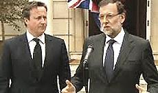 Cameron e Rajoy