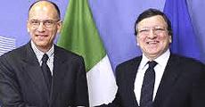 Letta e Barroso
