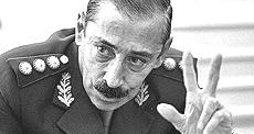 Videla all'epoca della dittatura
