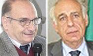 L'economista Bruno Amoroso e il  console Agostino Chiesa Alciator