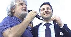 Grillo con Piccitto, neo-sindaco di Ragusa