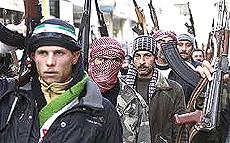 Guerriglieri in Siria, jihadisti e mercenari sostenuti dalla Nato