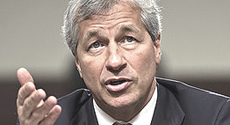 "James Dimon, ""ceo"" di Jp Morgan Chase"
