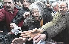 La disperazione della Grecia
