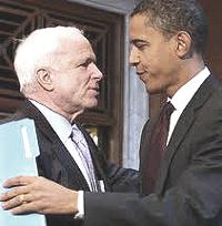 McCain e Obama