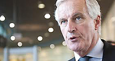Michel Barnier, commissario europeo