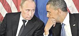 Putin e Obama al G8 irlandese